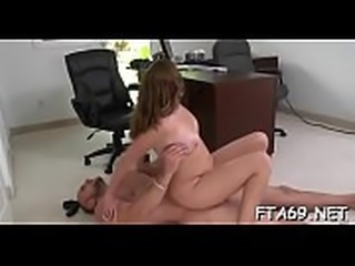 Frisky playgirl sucks and fucks a hung fellow on a casting