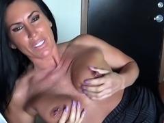Hot milf sex and cumshot