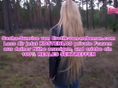 German ex Girlfriend outdoor anal pov petite tight teen