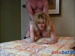 blonde MILF get fucked from behind