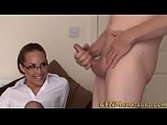 Specy amateur sucks dick