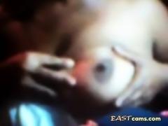 Sri Lankan lady ''Punya'' showing to web cam 3