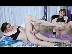 Best blowjob and swallow college blonde hidden Yoga Perv