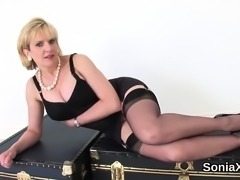 Cheating english milf lady sonia reveals her monster tits07b