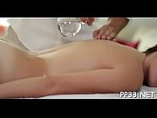 Enchanting hottie gets her hot body massage and drilled