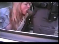 Woman Sucks Black Cops Cock