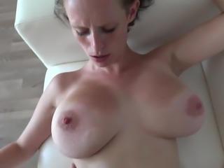 Big tits girl casting