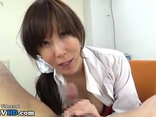 japanese nurse loves cum in mouth