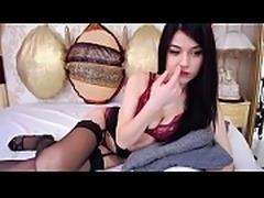 Mom POV LaLaCams.com Amazing Greek American Rubbing Pink Pussy Nice Tits
