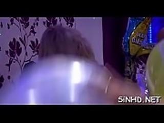 Large sex party