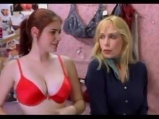 Lindsay Felton - Size Em Up Bra Scene
