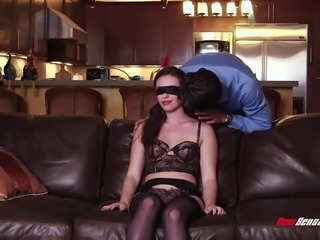Hotwife Casey Calvert Blindfolded & Fucked Hard