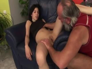 She wants stepfather's hard cock