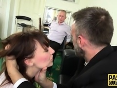 Real submissive gets dped