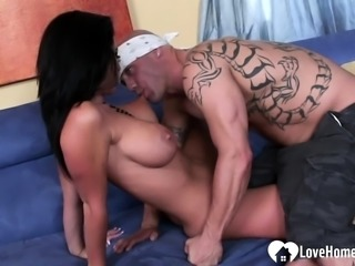 Cutie loves to suck and fuck hard