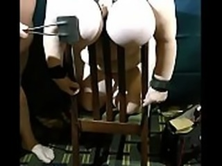 08-Oct-2014 Udder Bind Beat (Sklavin/slave) You can watch the welts and bruises as they form...