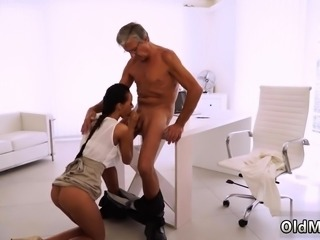 Old studs young sluts Finally she's got her manager dick