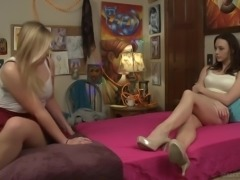 Ordinary evening gets turned into fantastic lesbian intercourse with Melissa May