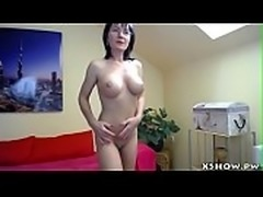 Cougar Cute Whore Masturbating
