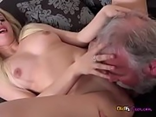 Young Hottie Furia Gets Paid For Sex By Old Guy