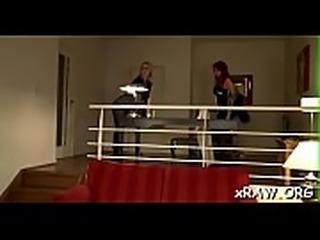 Fleshly women moaning in scenes of romantic wet crack play