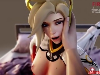 Overwatch porn and other 3D MILF compilation