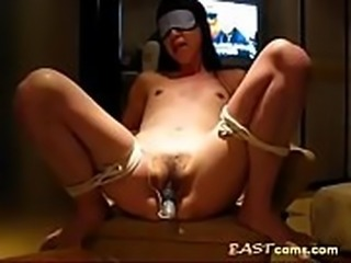 A Japanese OL - Bondaged &amp_ Vibrated