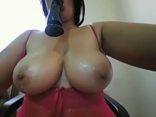 Hot milf nice big wet boobs tease for free cam