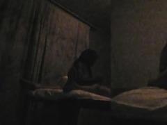 Late night amateur latina hardcore fuck caught on cam