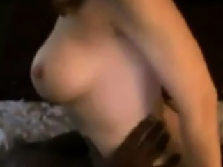 Hubby watches his wife cum to black cock