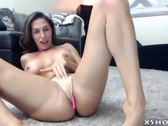 Sexy gorgeous slut flashing