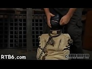 Demure slaves are clamped up for severe punishment