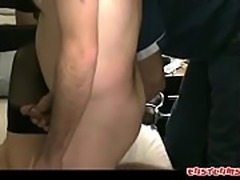Cuck Shares His Big Tit Asian Wife