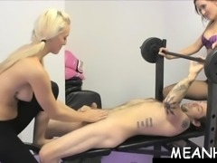 Cock loving playgirl is smacked hard by one erected dick