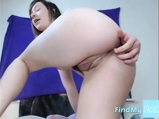 Dripping wet anal fingering