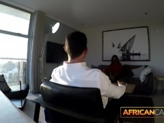 African Teen Ass Fucked by White Tourist