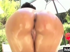 Two girls take care of big cocks