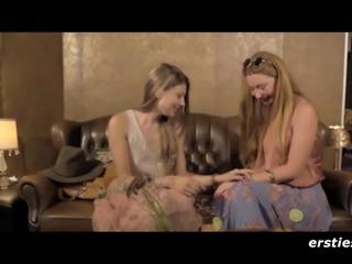 Sweet Lesbian Blind Date - ersties