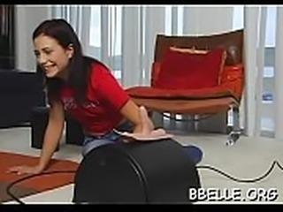Wild women having fun with hunk&#039_s wang