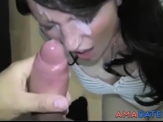 MILF Head 73 (Mouthfuck & Big Cock all over Her Face)