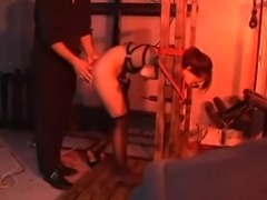 BDSM video with sexy Japanese girl getting fucked and tortured