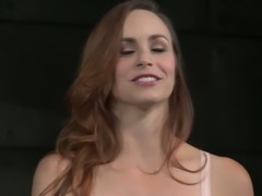 Submissive slut Bella Rossi is willing to do crazier stuff to find her limits