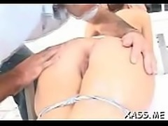 Perverted pornstar with handsome ass in a cool fucking scene