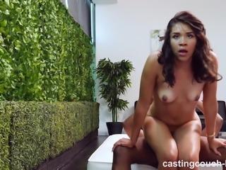 Exotic Bubble Butt Girl Meets A Big Black Cock