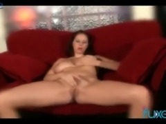 Big breasted real slut is actually really good at riding firm boner tool