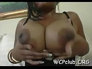 Impressive hardcore black sex act will make u water