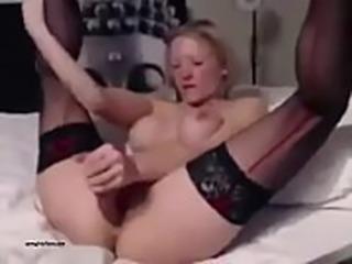Sexy Amateur British Girl Sucks And Rides Her Dildo Like Crazy