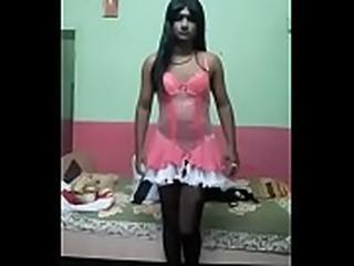 Prachi Crossdresser dressing 2