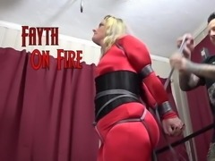 Fayth On Fire Strict Hogtie