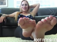 I will help you with your little foot fetish